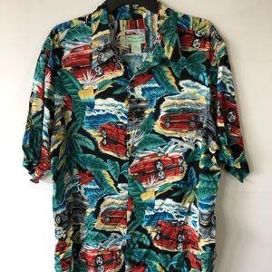 Reyn spooner classic car Hawaiian shirt size XL